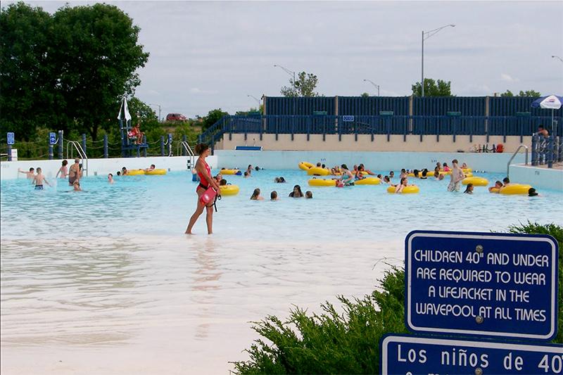 Beach Ottumwa Water Park